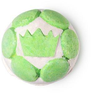 GREEN COCONUT Lush 2018 Xmas Jelly Bomb
